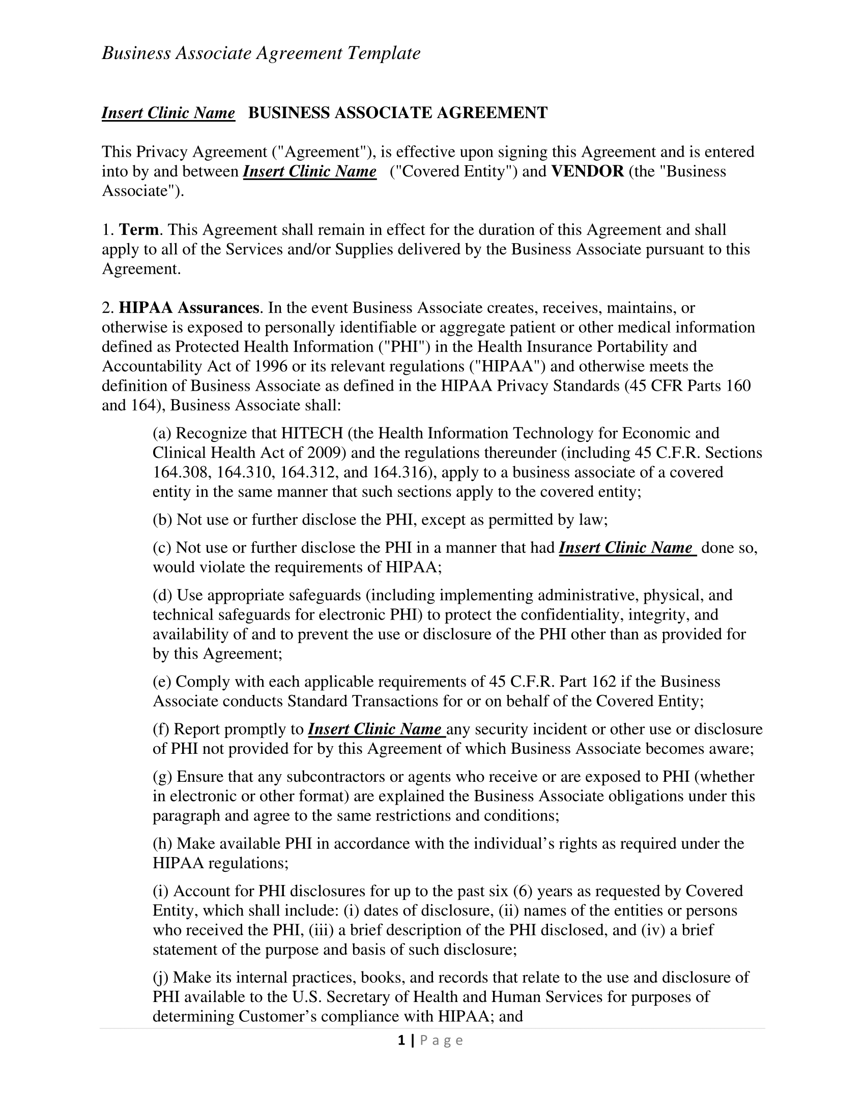 Business Contract Agreement 31 Contract Examples Samples Examples
