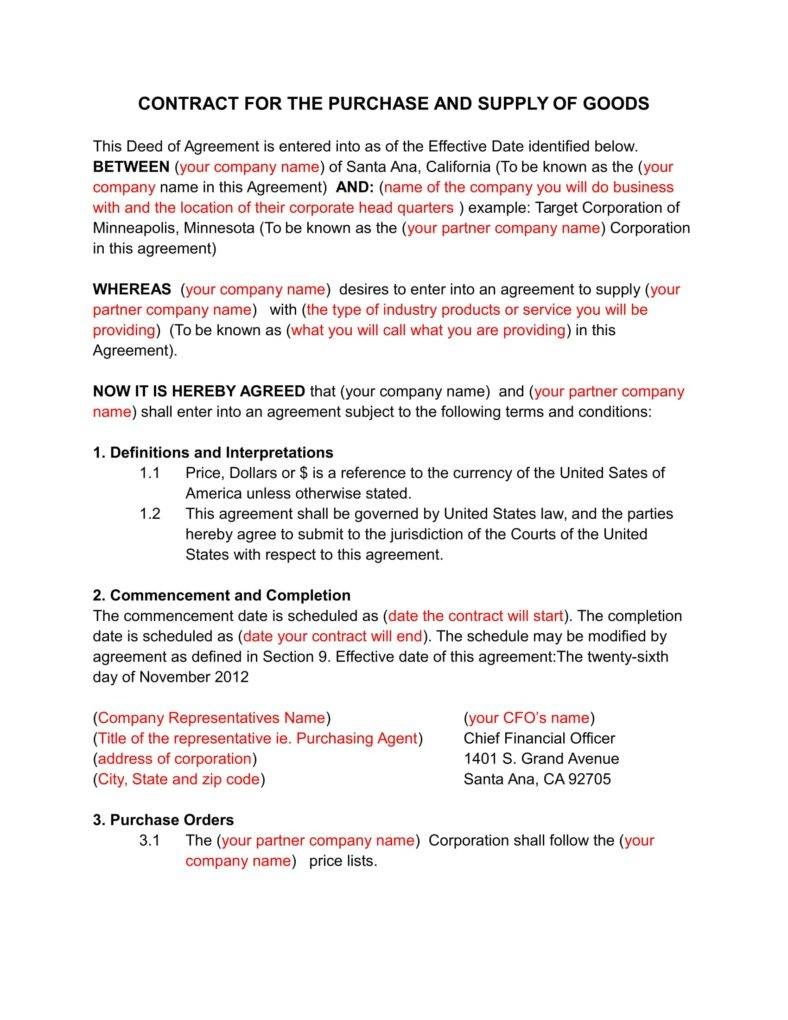 Business Contract Agreement 6 Secrets For Writing A Solid Business Contract Free Premium