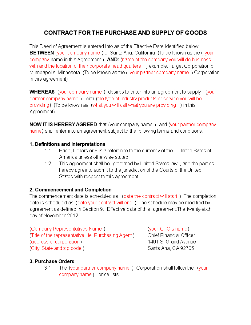 Company Representative Agreement 70 Effective Agreement Sample Of A Company Successfully With