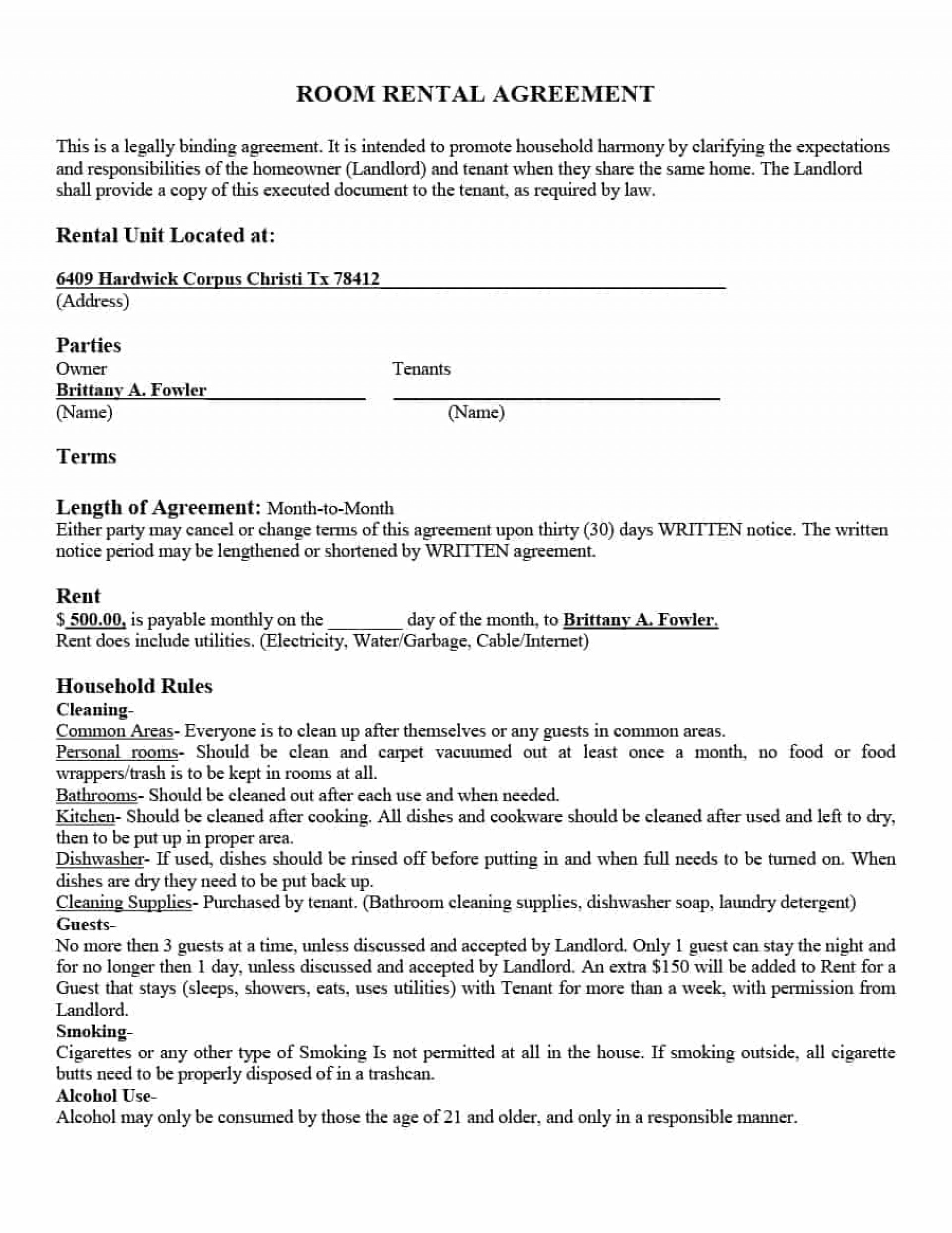 Copy Of A Lease Agreement For Residential 012 Basic Residential Lease Agreement South Africa Simple Rental