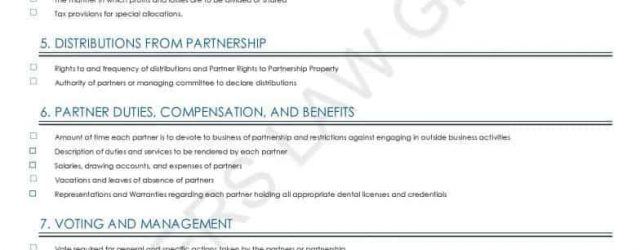 Dental Practice Partnership Agreement The Ultimate Guide To A Successful Dental Partnership 2018 Checklist