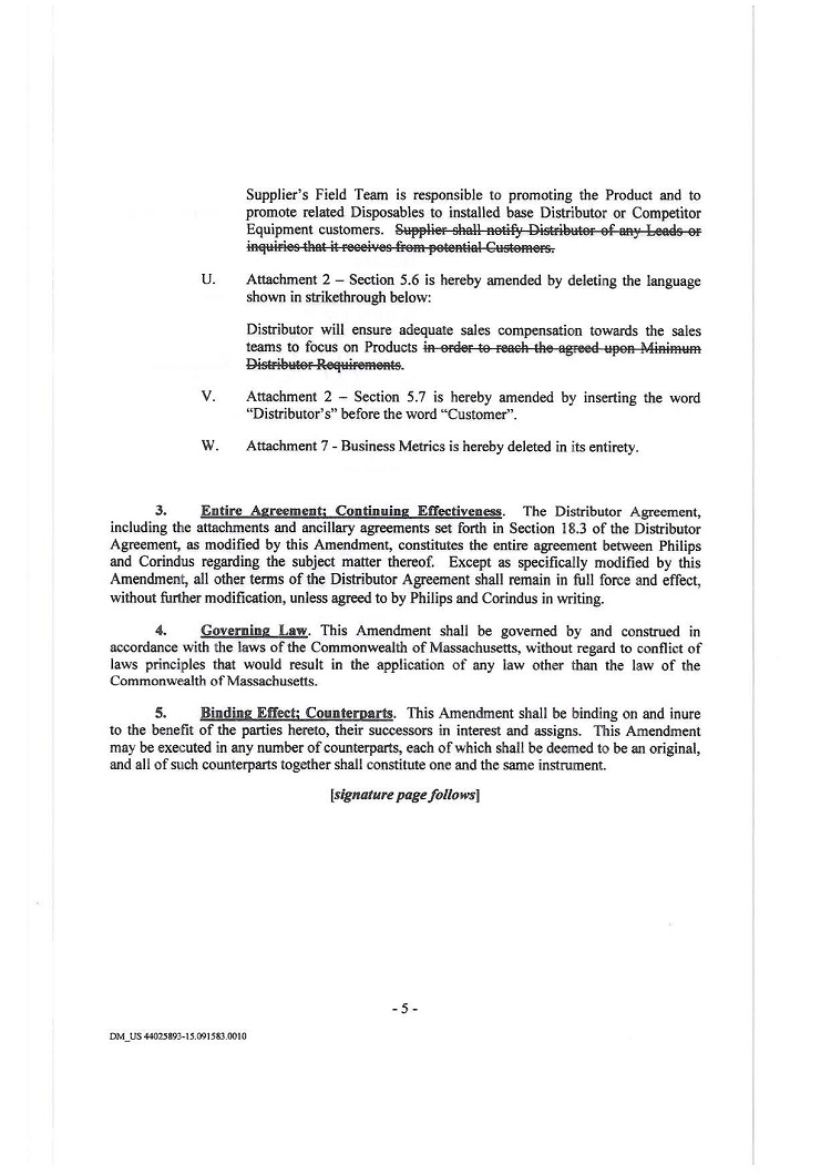 Distributor Agreement Sample Contract Distributor Agreement With Philips Medical Systems Nederland Bv