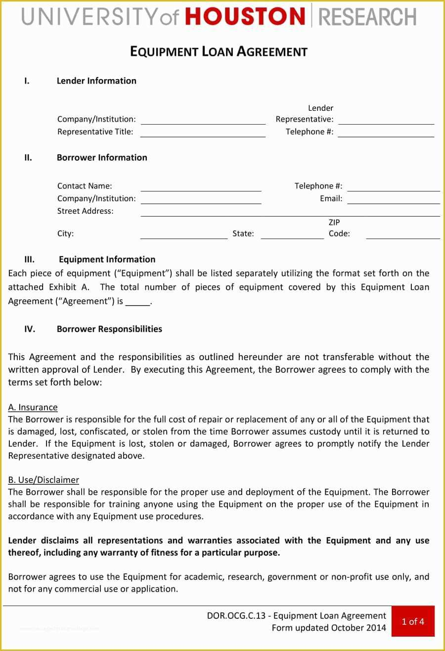 Free Loan Agreement 58 Free Loan Agreement Template Heritagechristiancollege