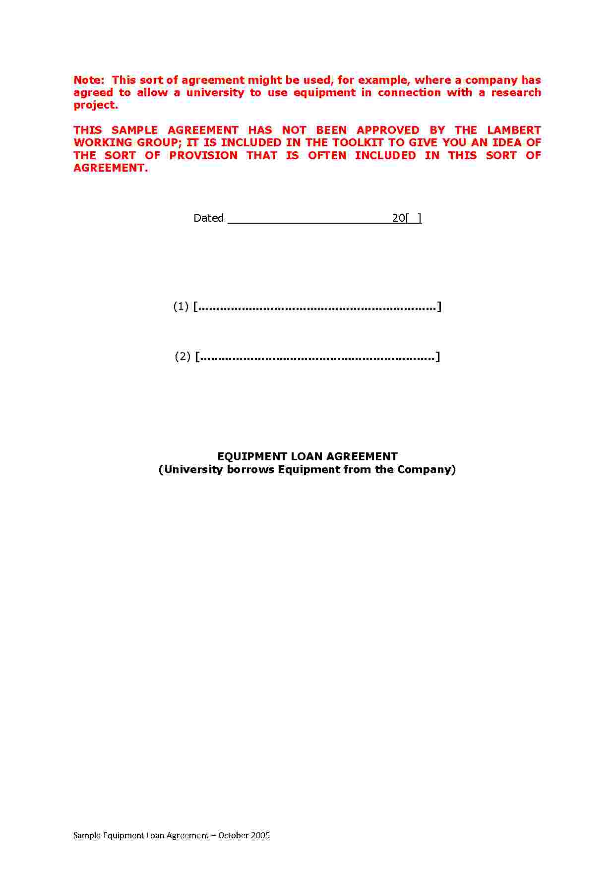 Free Loan Agreement Download Loan Agreement Style 5 Template For Free At Templates Hunter