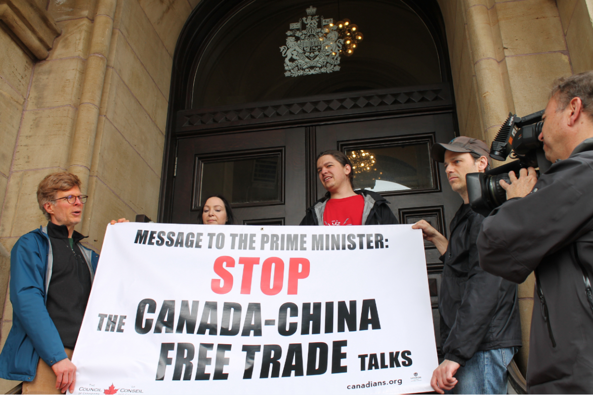 Free Trade Agreement With China Canada China Free Trade Agreements The Council Of Canadians