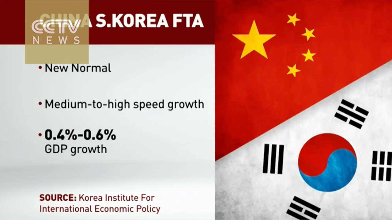 Free Trade Agreement With China China And South Korea To Sign Free Trade Agreement