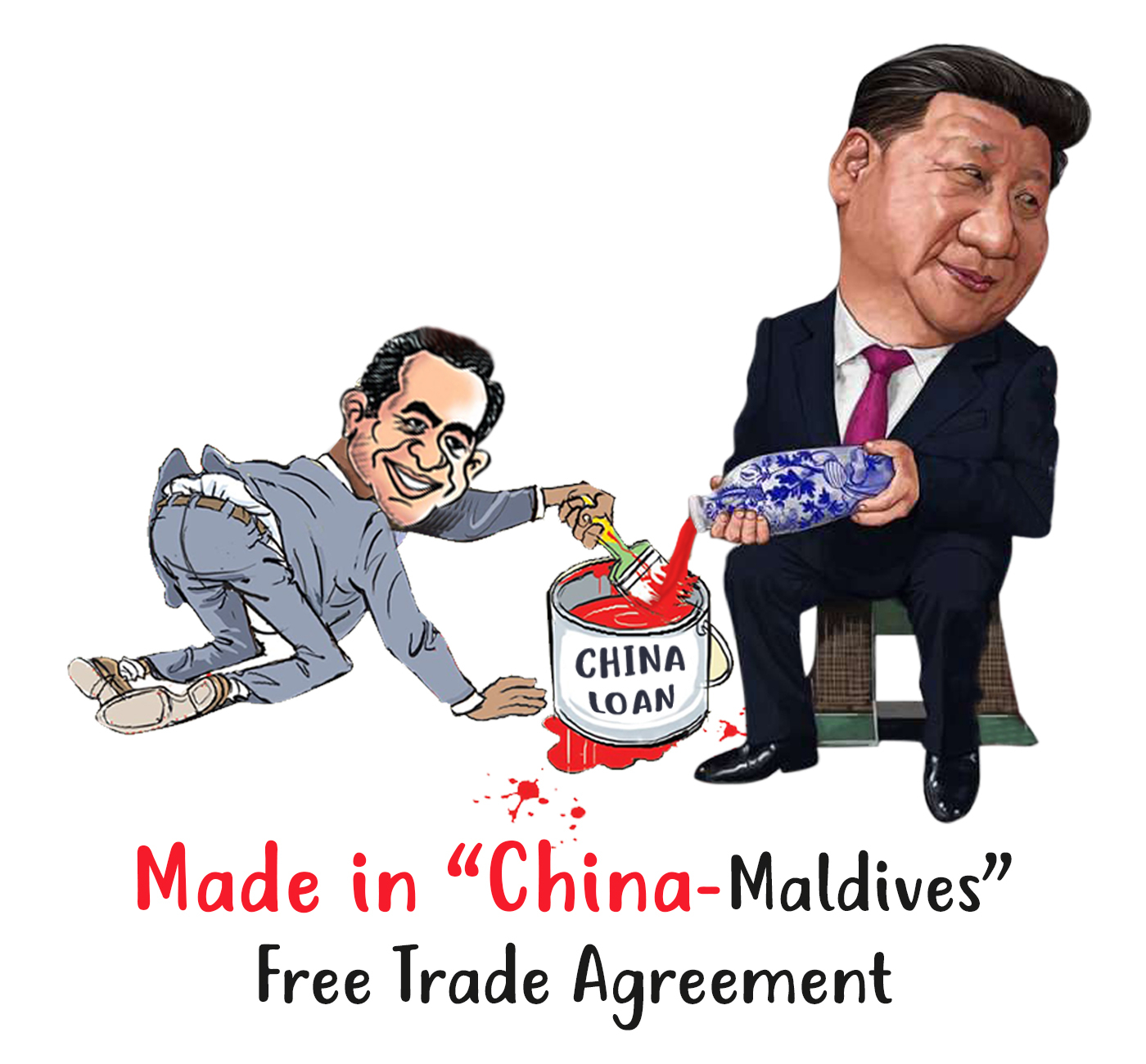 Free Trade Agreement With China Made In China Maldives Free Trade Agreement Maldives Uprising