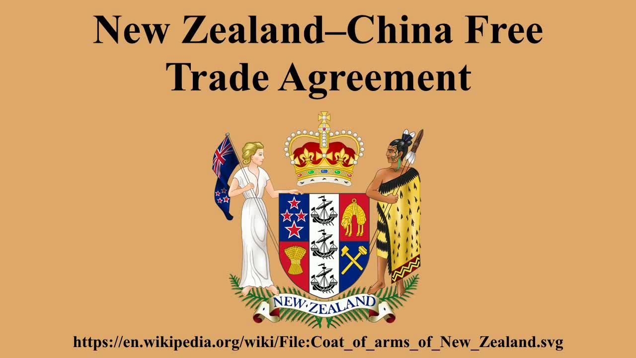 Free Trade Agreement With China New Zealandchina Free Trade Agreement