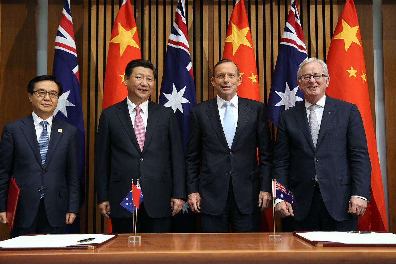 Free Trade Agreement With China Pacific News Minute Diplomatic Chill Deepens Between Australia And