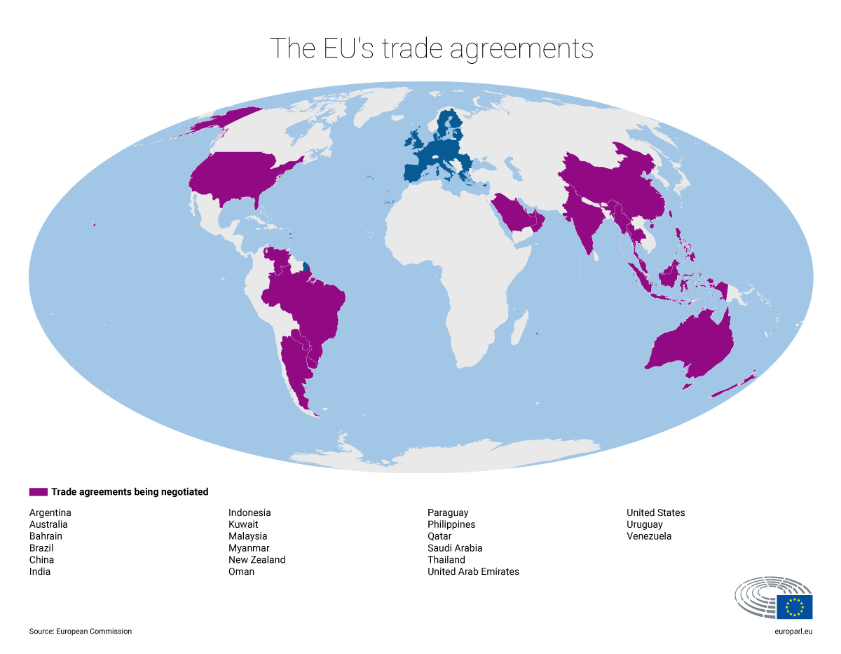 Free Trade Agreement With China Trade Agreements What The Eu Is Working On News European Parliament