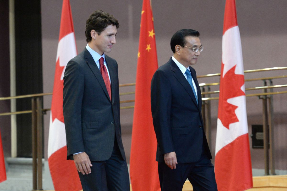 Free Trade Agreement With China Trudeau Confirms Canada Exploring Free Trade Agreement With China