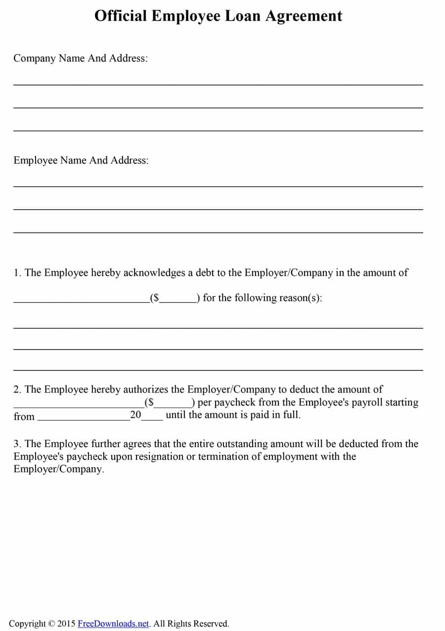 How To Write A Loan Agreement 40 How To Write Sample Agreement In Lending Money Docs For Word With