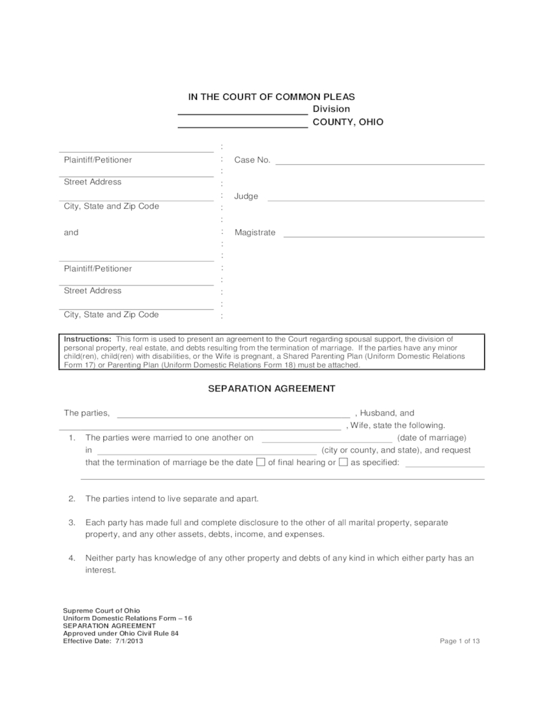 Marriage Termination Agreement Separation Agreement Template Lisamaurodesign Free Tennessee