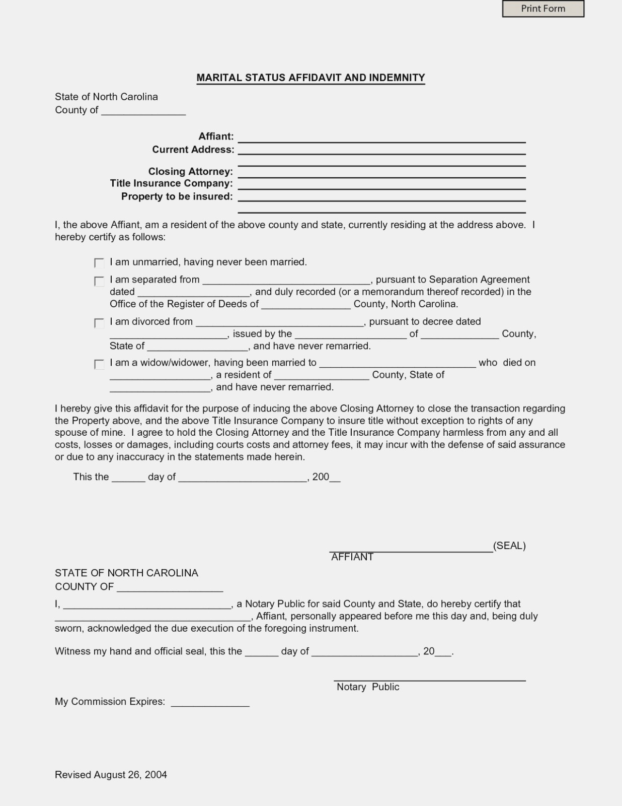 Nc Separation Agreement Template Separation Agreement Template Nc Best Of Separation Agreement