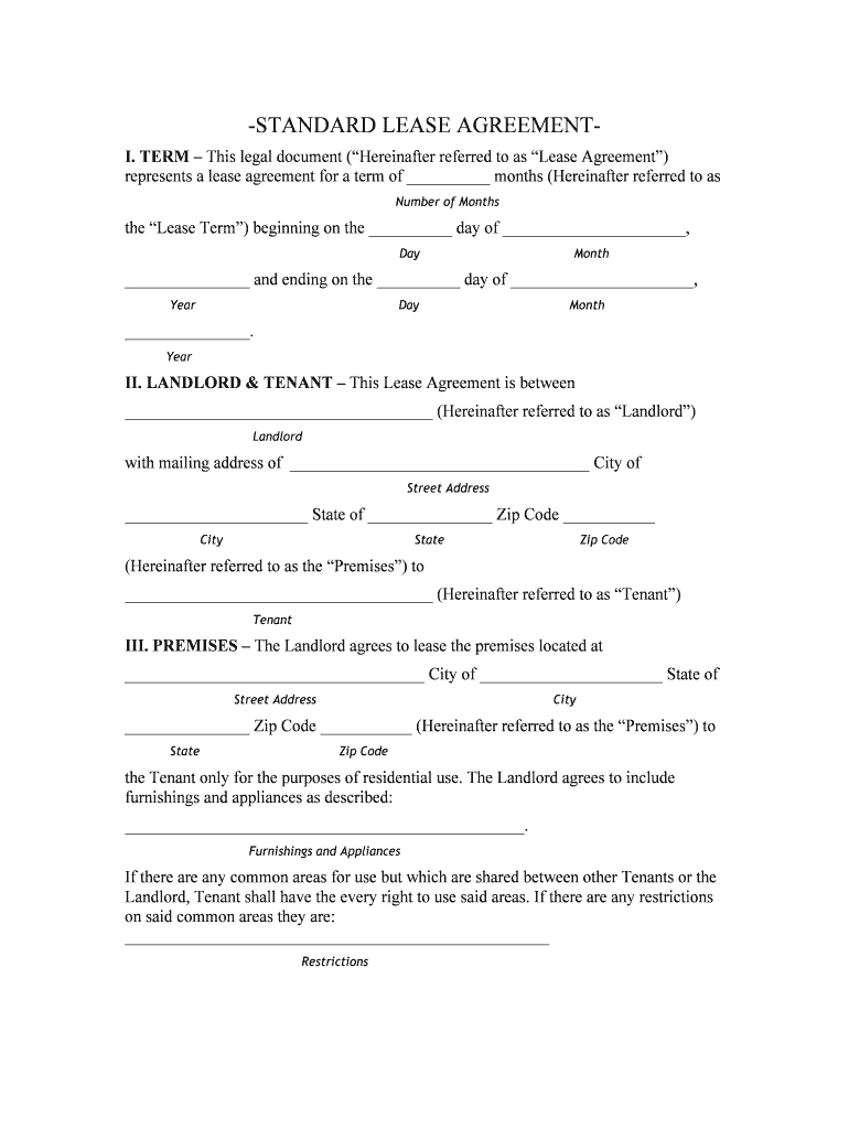Oklahoma Lease Agreement Oklahoma Lease Agreement Word Document Fill Online Printable