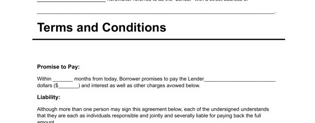 Personal Loan Agreement Template Download Personal Loan Agreement Template Pdf Rtf Word