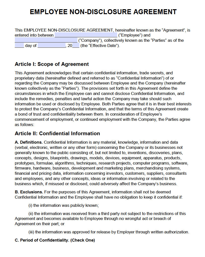 24 Pretty Image Of Phi Confidentiality Agreement