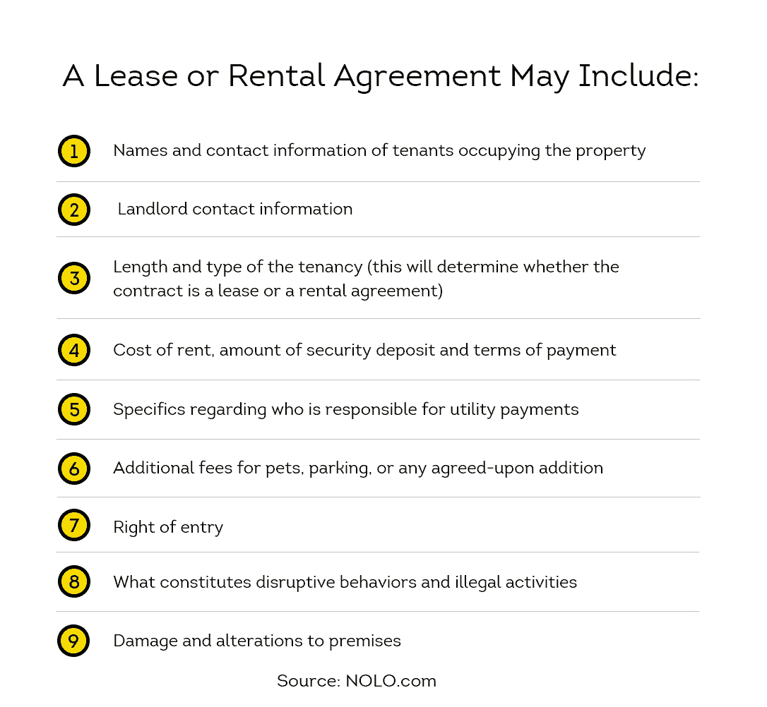 Rental Agreement Contract The Difference Between A Lease And A Rental Agreement Smartmove