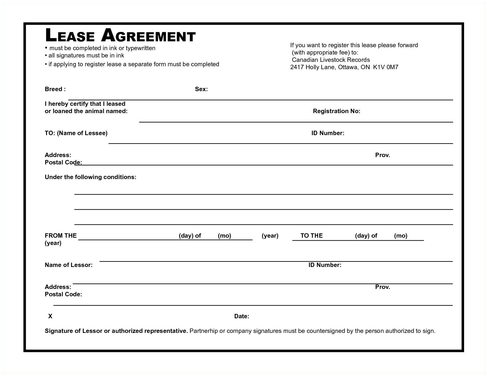 Rental Agreement Free Form 012 Basic Residential Lease Agreement South Africa Simple Rental