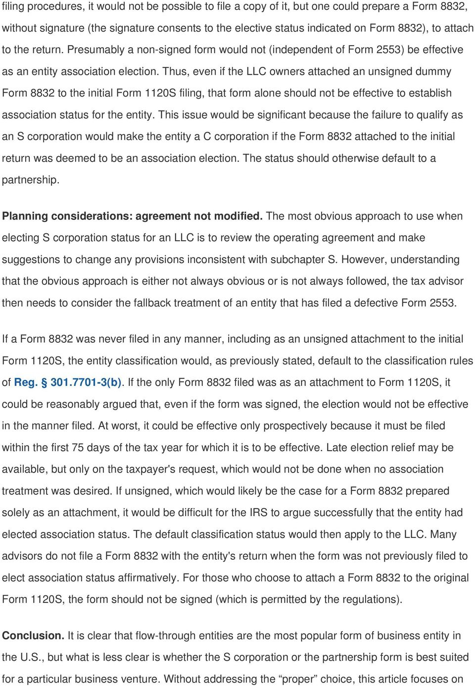 S Corp Operating Agreement Template Avoiding Traps When Electing S Corporation Status For An Llc Pdf