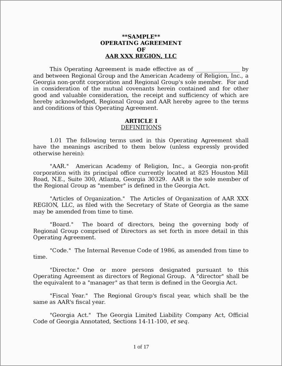 S Corp Operating Agreement Template Free Operating Agreement Template Best Of Operating Agreement Sample