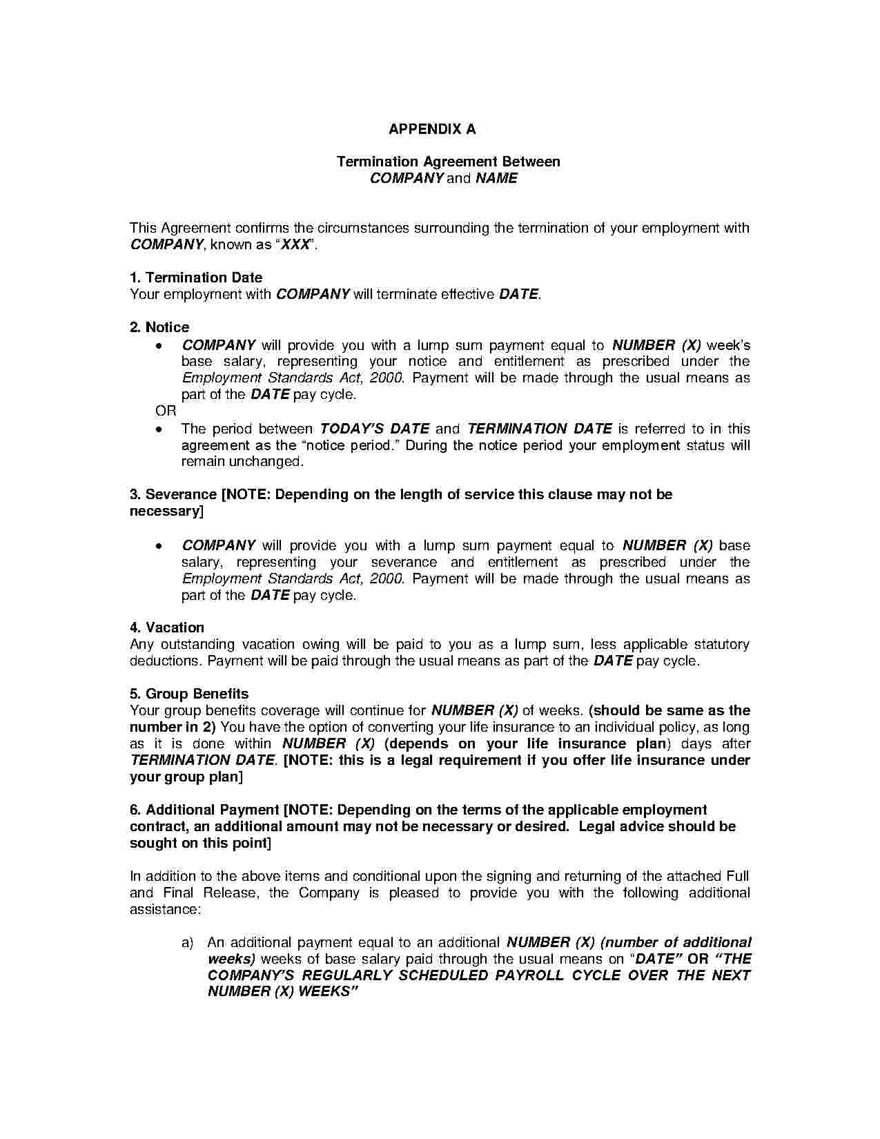 Termination And Mutual Release Agreement Mutual Rescission And Release Agreement Templates Hunter