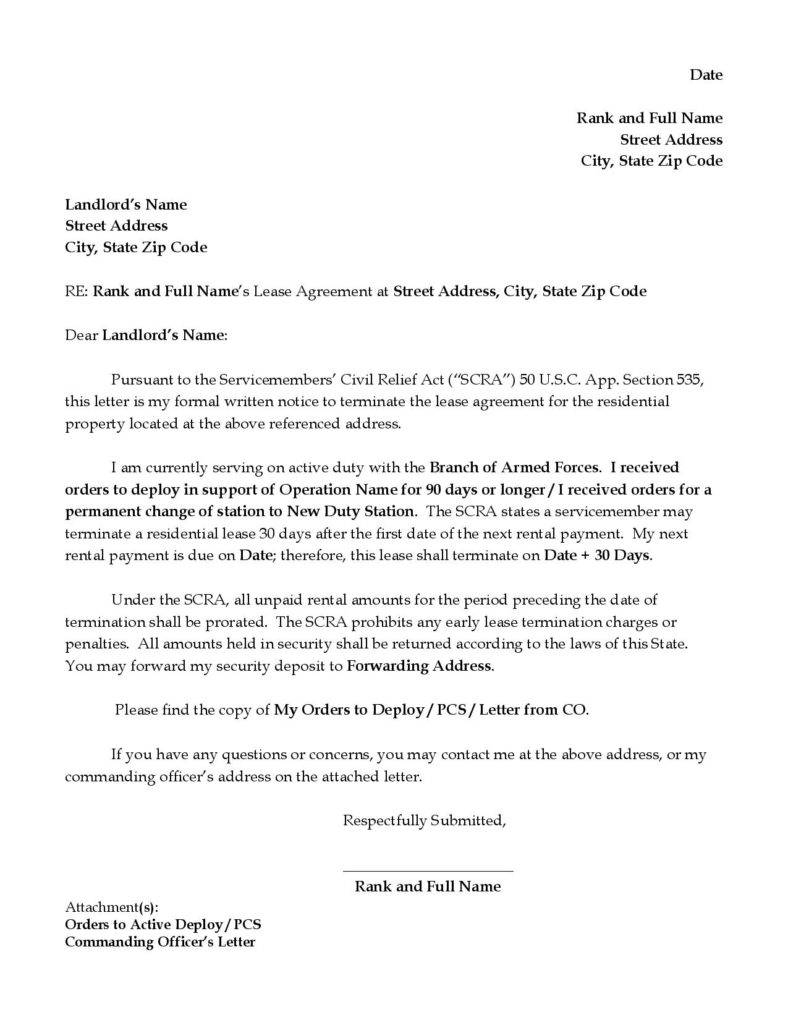 Termination Of Lease Agreement 9 Tenancy Termination Letters Free Samples Examples Download