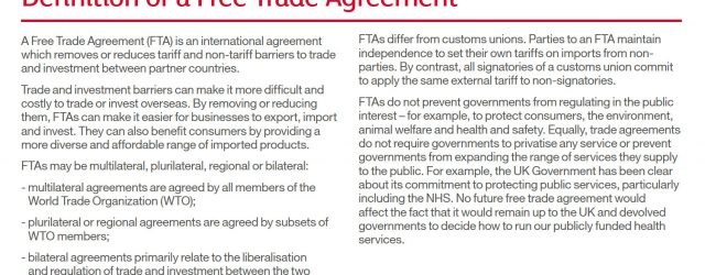 Trade Agreement Definition Definition Of A Free Trade Agreement