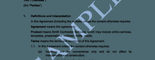 User Agreement Template End User License Agreement Template Sample Lawpath