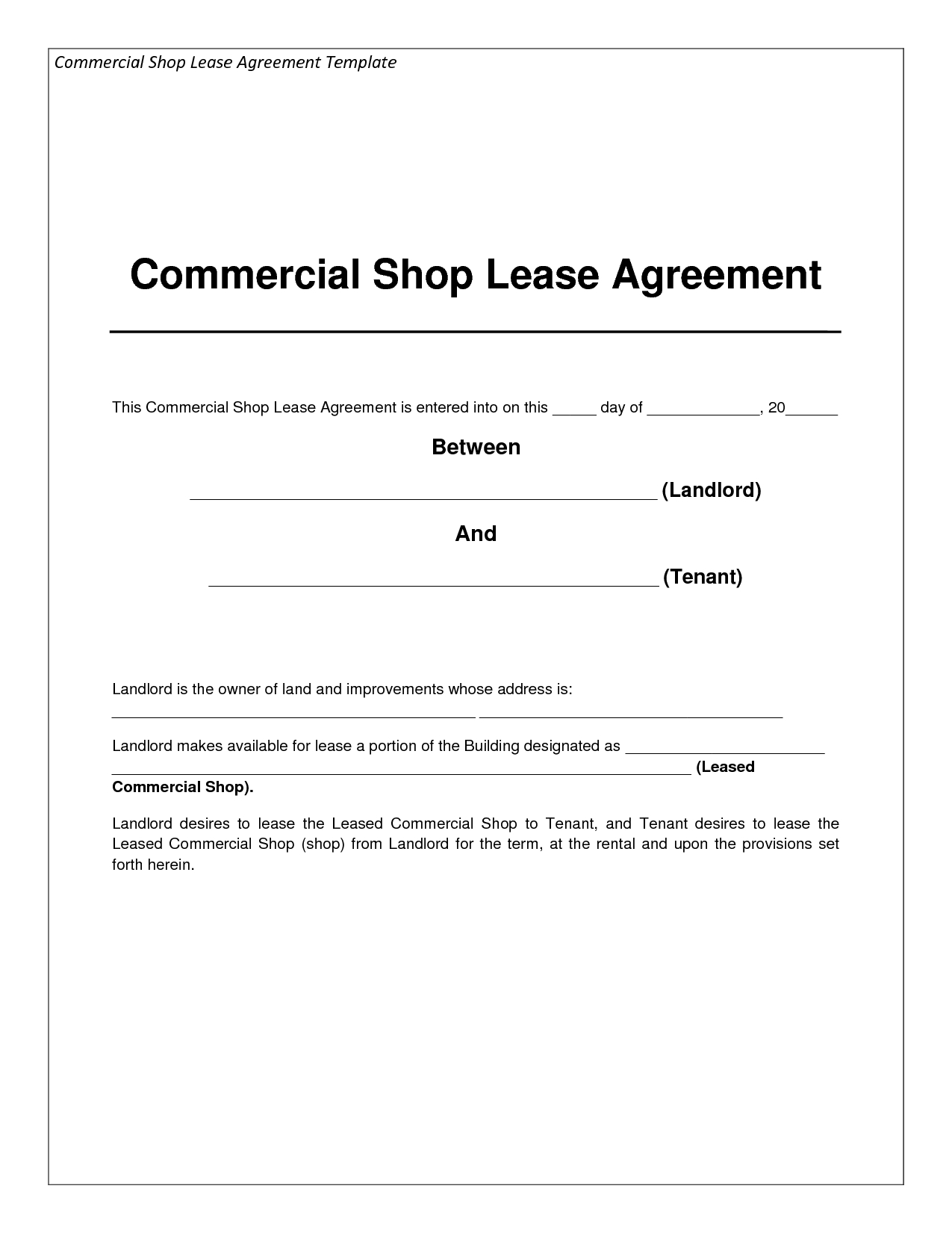 Warehouse Agreement Sample Template Blank Warehouse Lease Agreement Template Tasty Rental