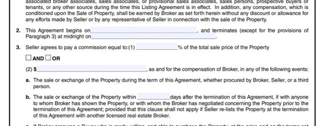 What Is A Listing Agreement In Real Estate Types Of Listing Agreements Understanding Real Estate Agent