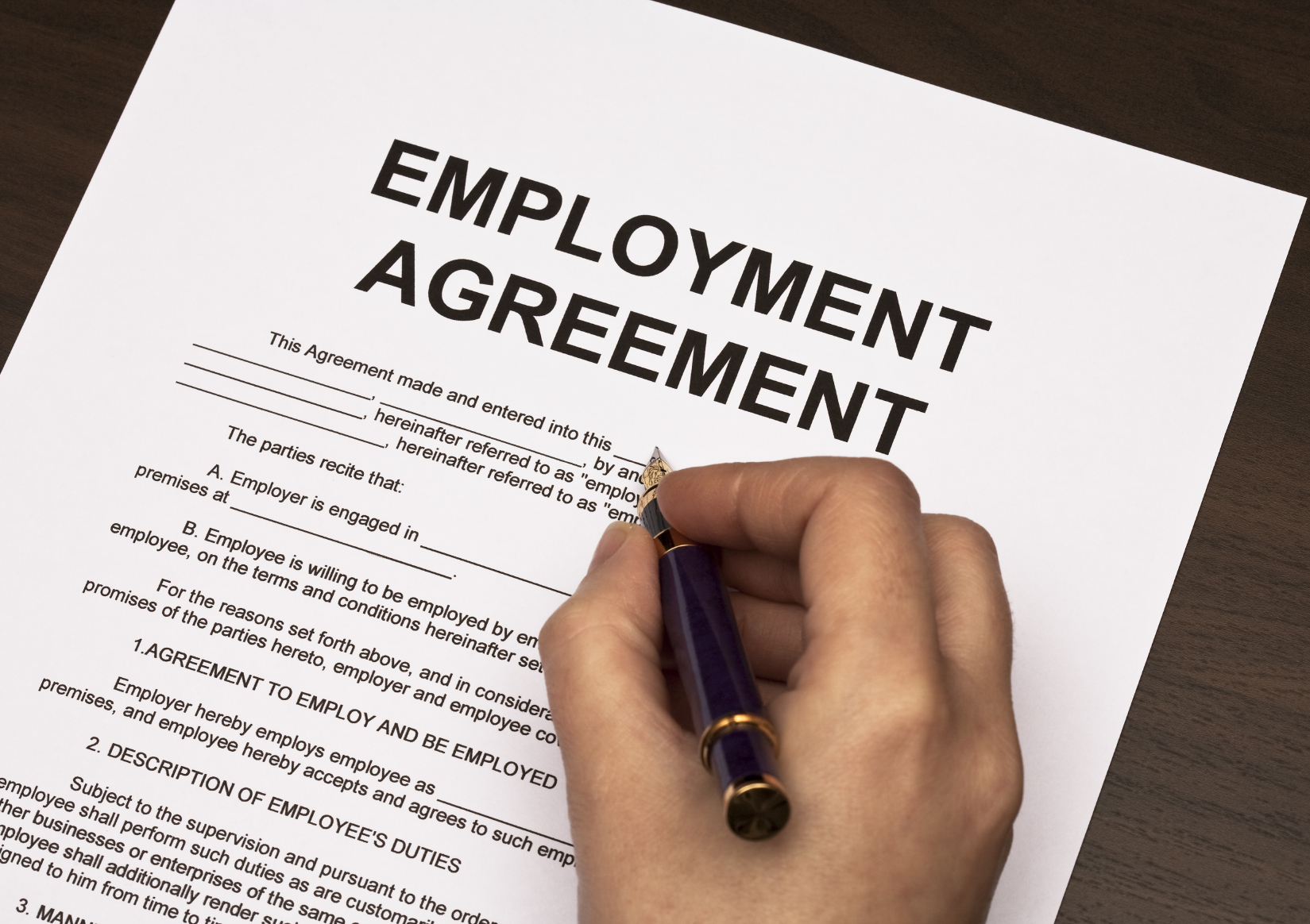 Writing Contract Agreement 2 Common Myths About Employment Contracts Employment Rights Ireland