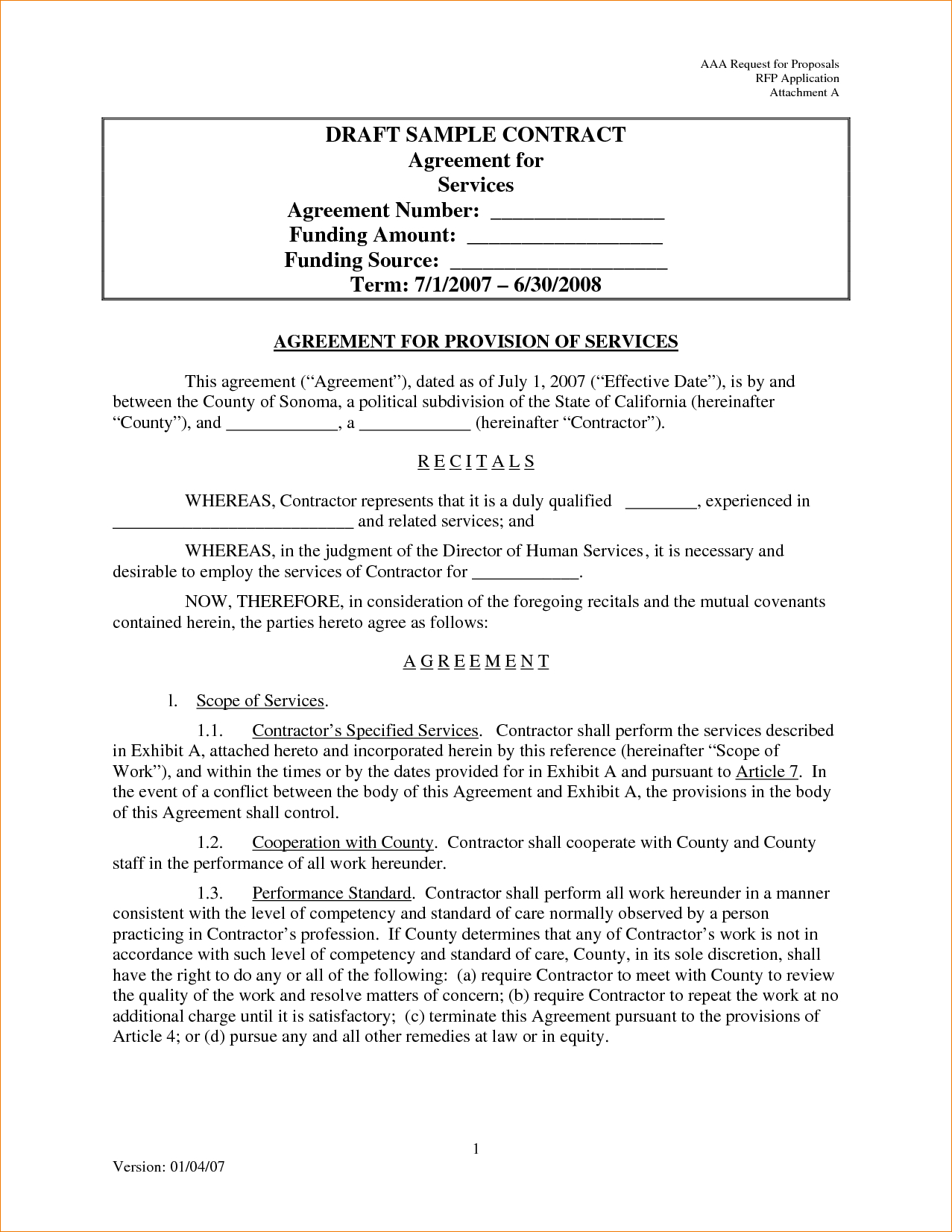 Writing Contract Agreement Contract Agreement Template For Services 3 Elsik Blue Cetane
