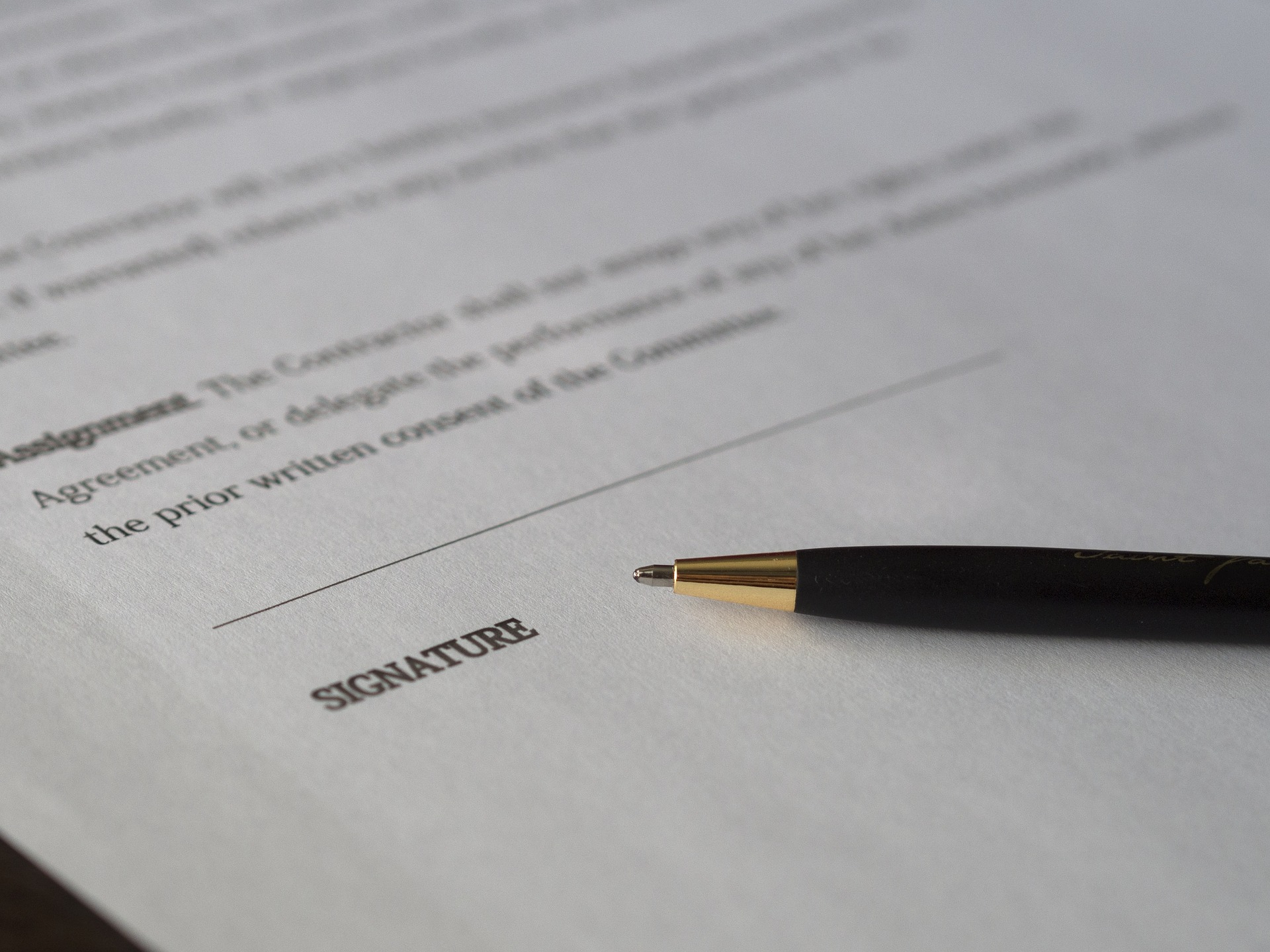 Writing Contract Agreement Contract Without Considerationexception To No Consideration No Contract