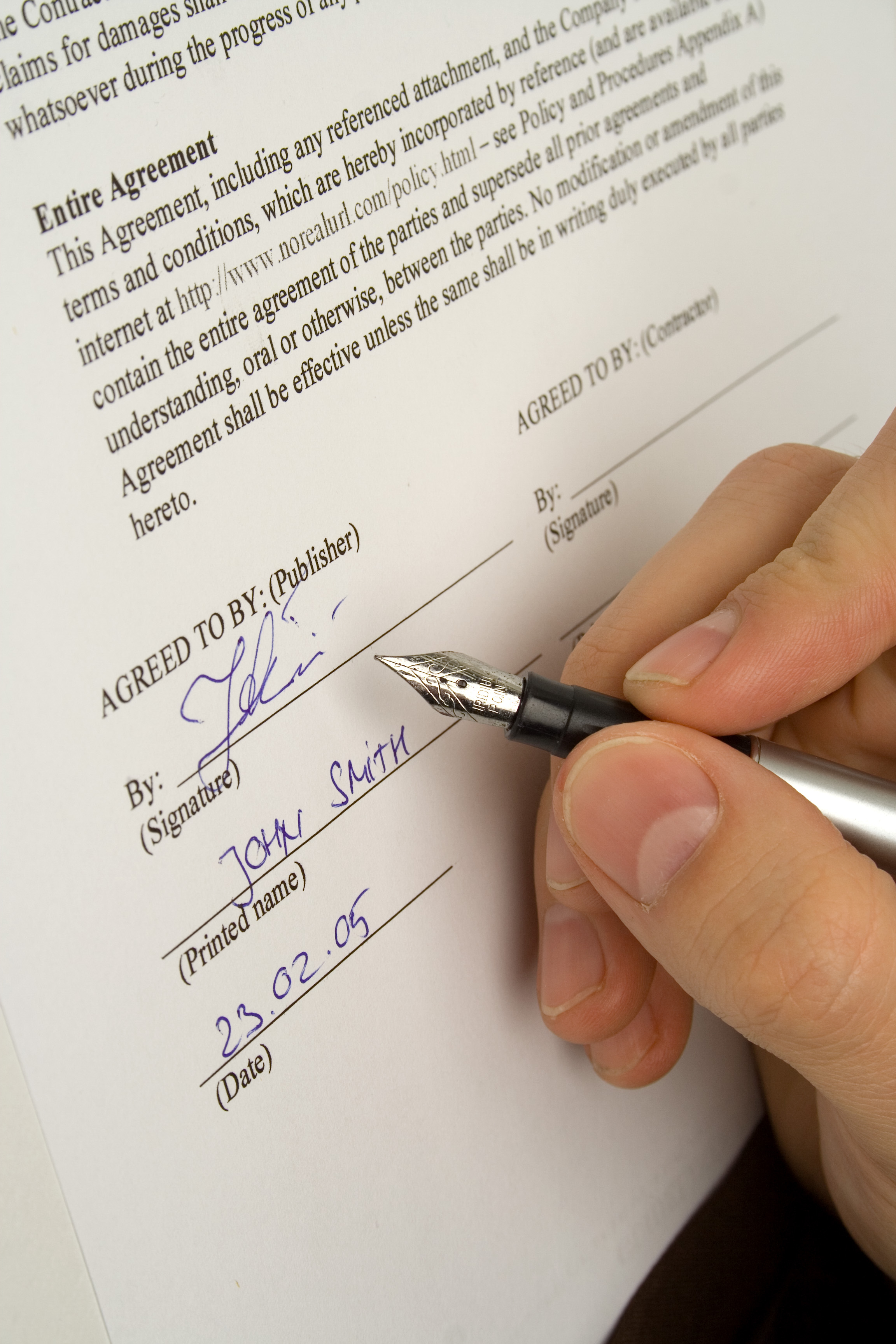 Writing Contract Agreement Oklahoma Contract Law