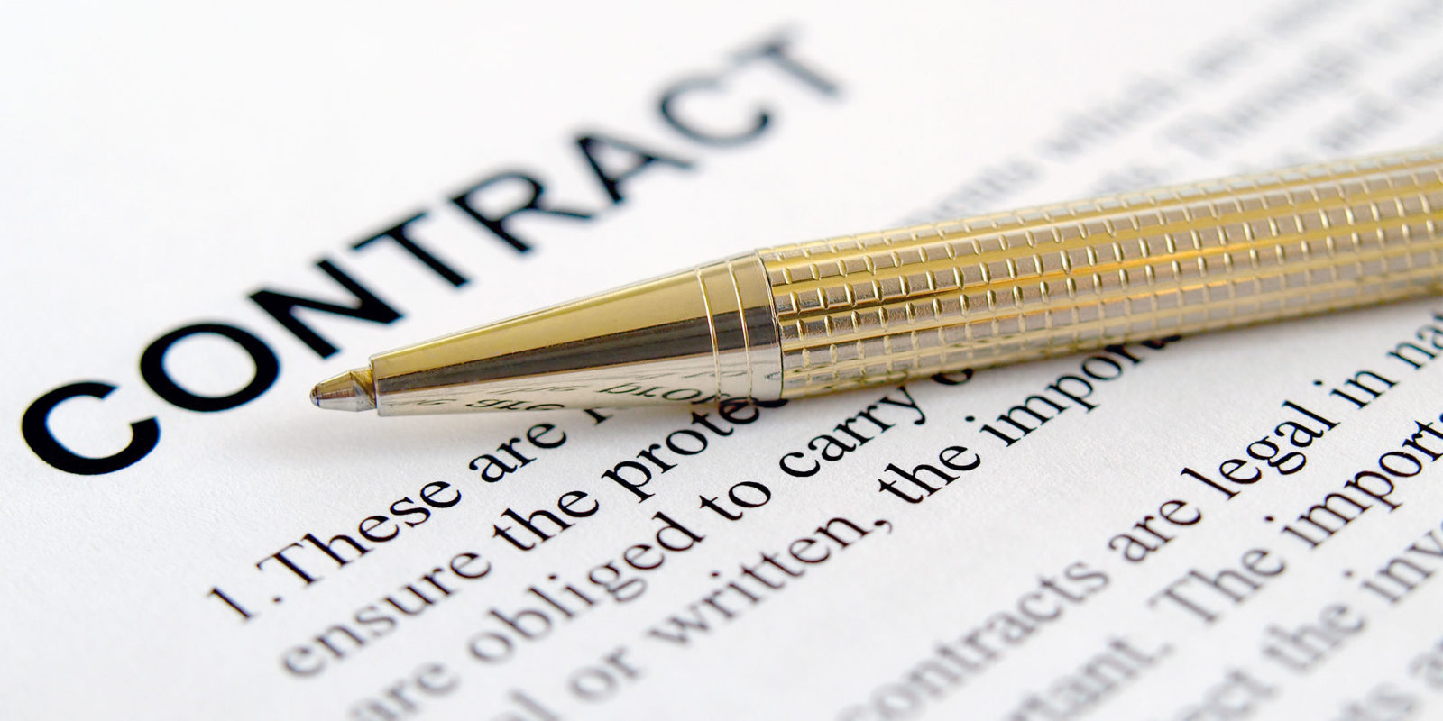 Writing Contract Agreement Putting Agreements In Black And White How To Contract For Business